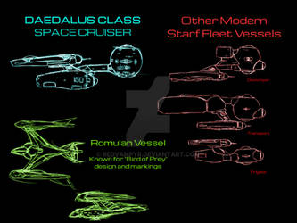 Star Trek: Reimagined Romulan War era ships