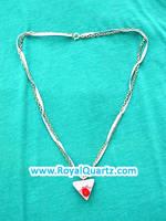 Piece of Cake Necklace by royalquartz