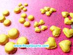 Miniature Yellow Macaroons