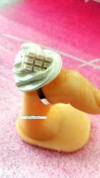 Small Whip Cream Ring