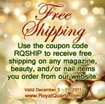 Royal Quartz Free Shipping Ad