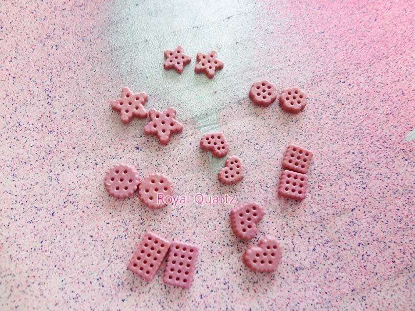 Cookies - Medium Pink by royalquartz