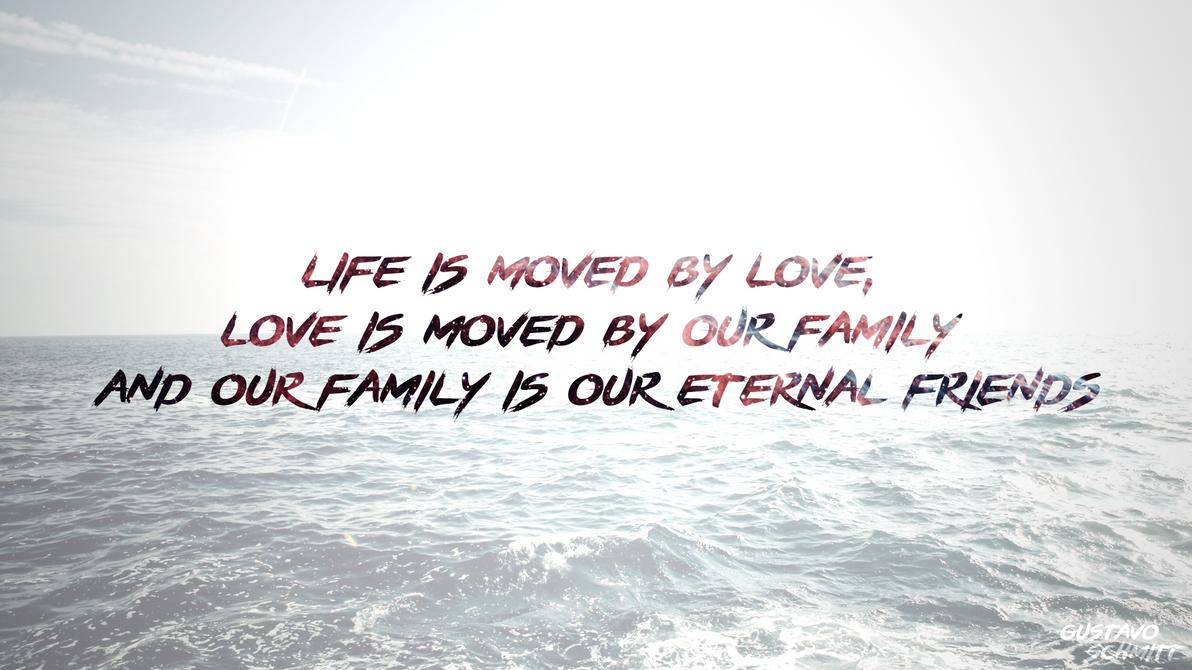 Life love family wallpaper full hd by brgustavols on - Love life wallpaper hd ...