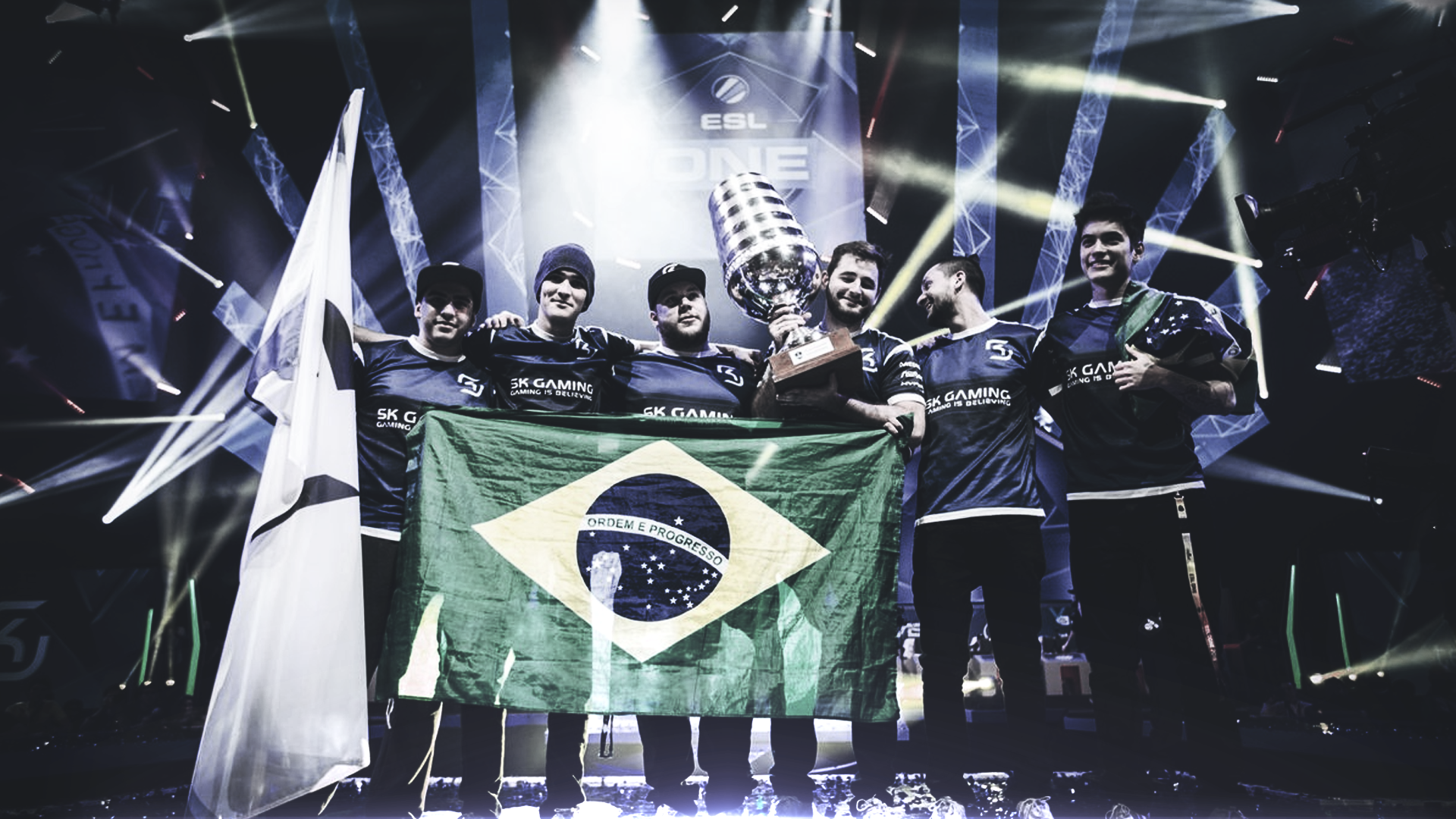 Sk Gaming Wallpaper Full Hd Esl One Cologne 2016 By