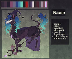 Witch canine Auction CLOSED