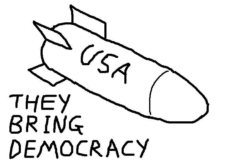 bringing democracy to the world