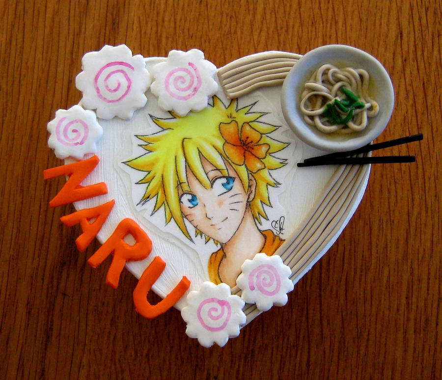 Polymer Clay Naruto Box by LittleBreeze