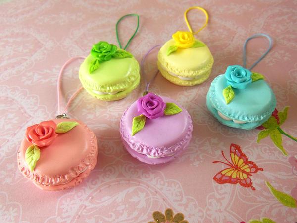 Macaron Keychain by LittleBreeze