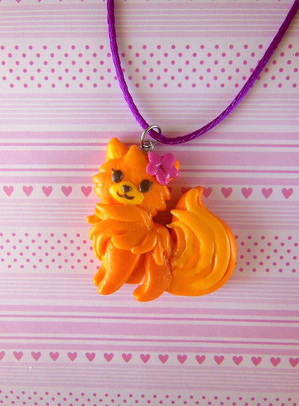Pom Get's Wi-fi Necklace by LittleBreeze