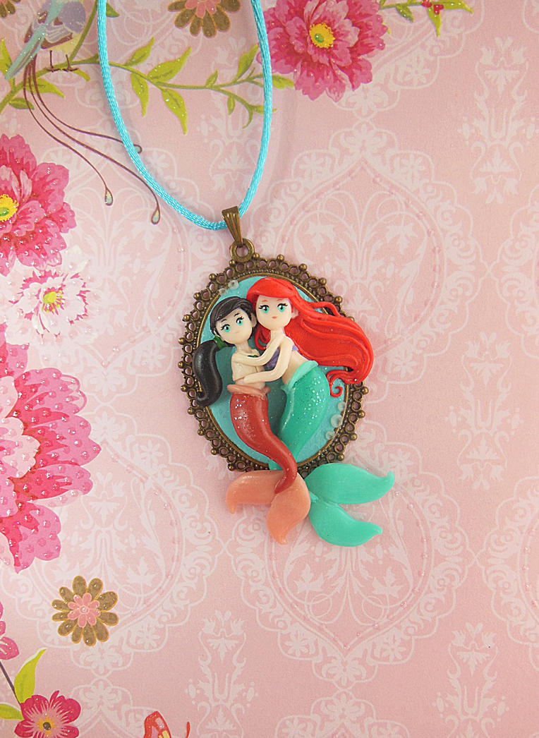 *Motherlove* Ariel and Melody Cameo by LittleBreeze