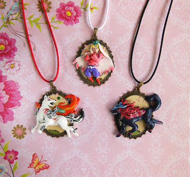 Okami Cameo Collection by LittleBreeze