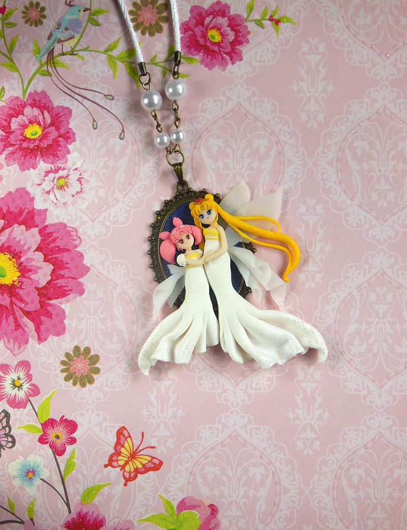 sailor moon queen serenity chibiusa by littlebreeze on deviantart