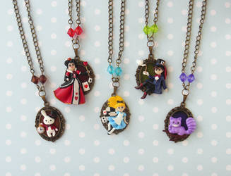 Alice in Wonderland Cameo Collection