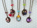 Alice in Wonderland Cameo Collection by LittleBreeze