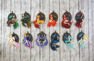 Zodiac Sign Cameo Collection Remake by LittleBreeze