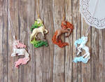 The Four Seasons Unicorn Pendants