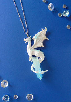 Ice Dragon Necklace