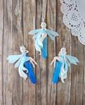 Ice Fairy Pendants