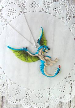 Monster Hunter - Azure Rathalos Pendant