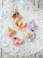 Flower Mermaid Necklaces by LittleBreeze