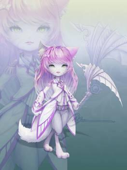 [closed] adoptable - Unyuu Violet