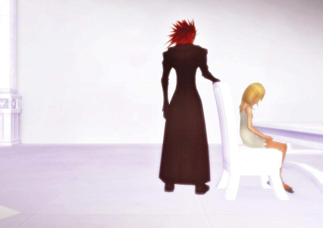 Axel and Namine ~Every You Every Me~ by ChochoYatori