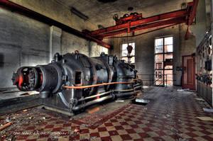 URBEX: Power plant 6of7 by wchild