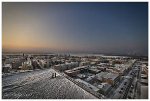 Rooftops of Kemi by wchild