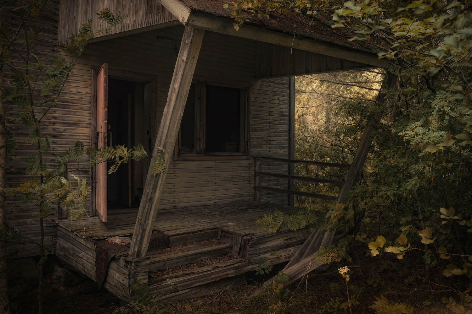 Abandoned and almost forgotten, part I of VI by wchild