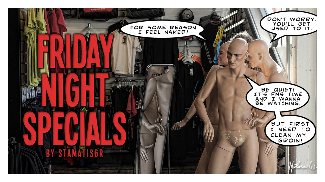 FNS promo 2014.14 Mannequins by wchild