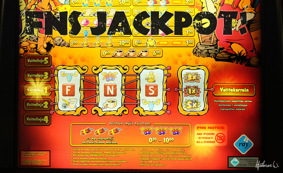 FNS promo 2014.20 Jackpot by wchild