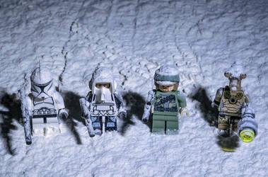 SNOW WARS by wchild