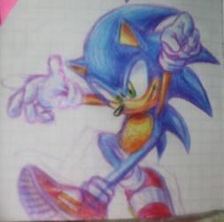 Sonic Break Colors pencils