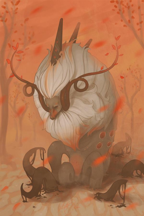 autumn god by sc-parade