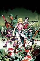 Fanboys vs. Zombies #6 Cover C by FelipeSmith