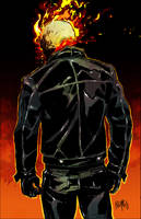 Ghost Rider: Johnny Blaze by FelipeSmith