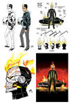 All-New Ghost Rider Preliminary Designs