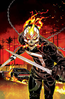 All-New Ghost Rider #2 Cover (Variant)