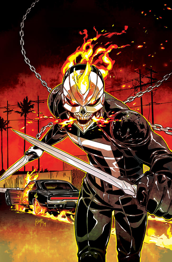 All-New Ghost Rider #2 Cover (Variant) by FelipeSmith
