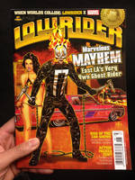 MARVEL X LOWRIDER Magazine Cover (June 2014 Issue) by FelipeSmith