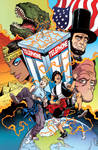 Bill and Ted's Most Triumphant Return # 1 Cover