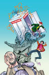 Cover to Bill and Ted's Most Triumphant Return # 2
