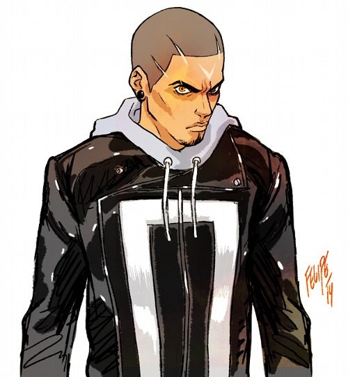 Robbie Reyes: The All-New Ghost Rider By FelipeSmith On
