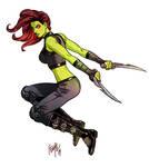 Guardians of the Galaxy: Gamora 01