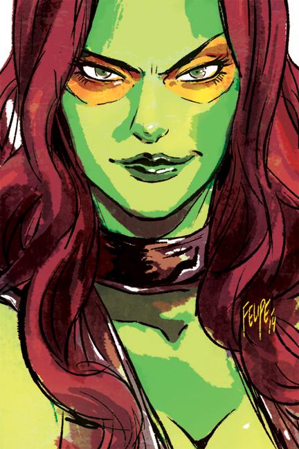 Gamora: No-nonsense Intergalactic Assassin by FelipeSmith