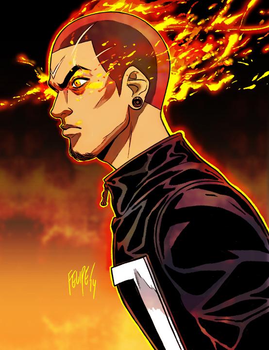All-New Ghost Rider: Robbie Reyes by FelipeSmith