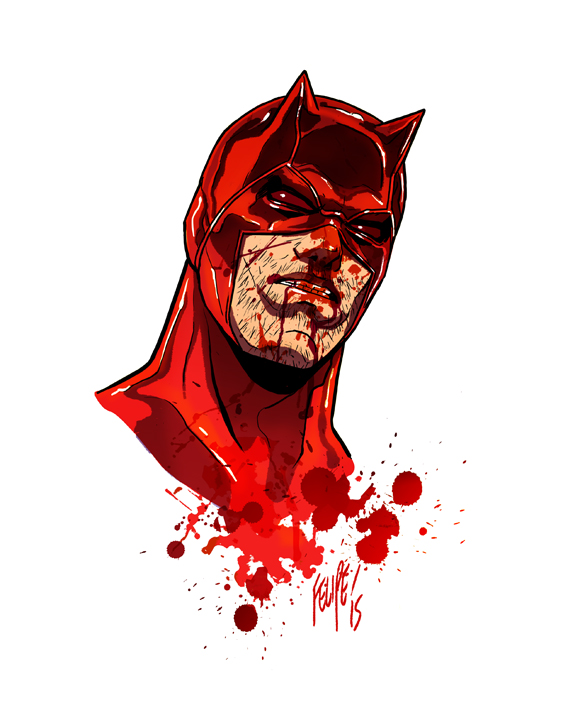 Matt Murdock: Daredevil by FelipeSmith
