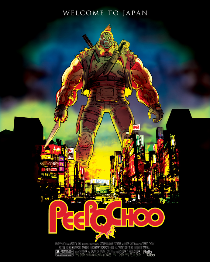 peepo choo movie poster by felipesmith on deviantart