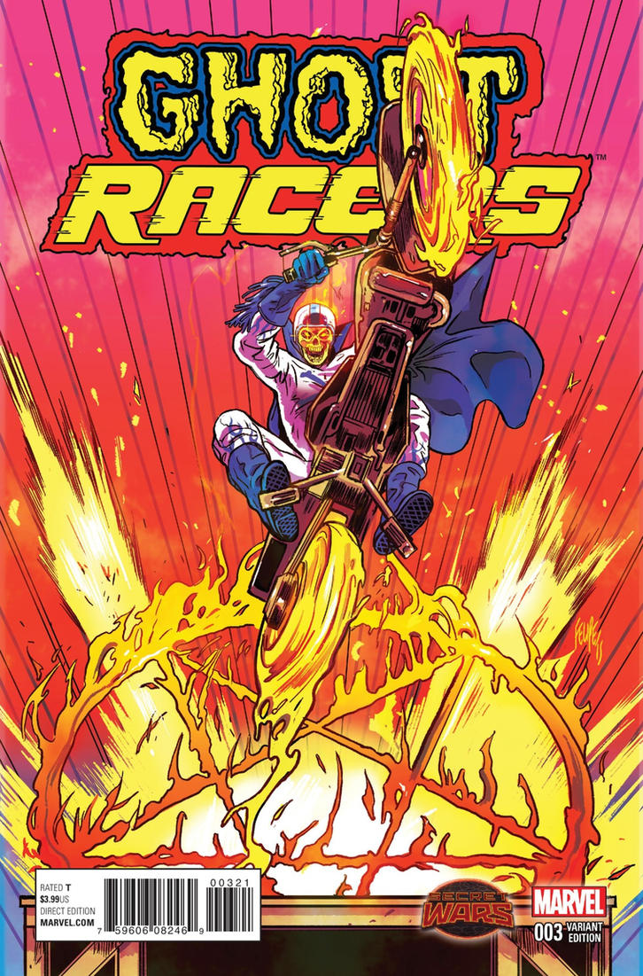 Ghost Racers #3 Variant Cover by FelipeSmith