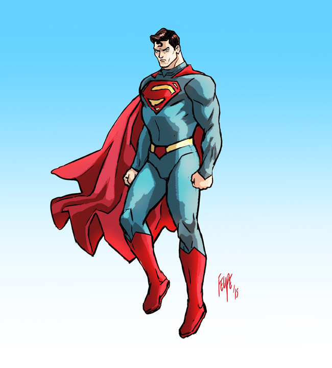 Superman 01 by FelipeSmith